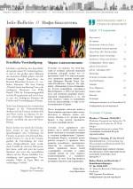 Info-Bulletin 01/2015