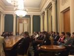 Alumnigespräch in der Russischen Botschaft