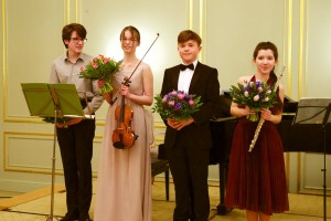 Junge Musiker des Julius-Stern-Institut der Universität der Künste Berlin