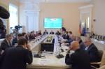 Treffen deutscher und russischer Parlamentarier in St. Petersburg