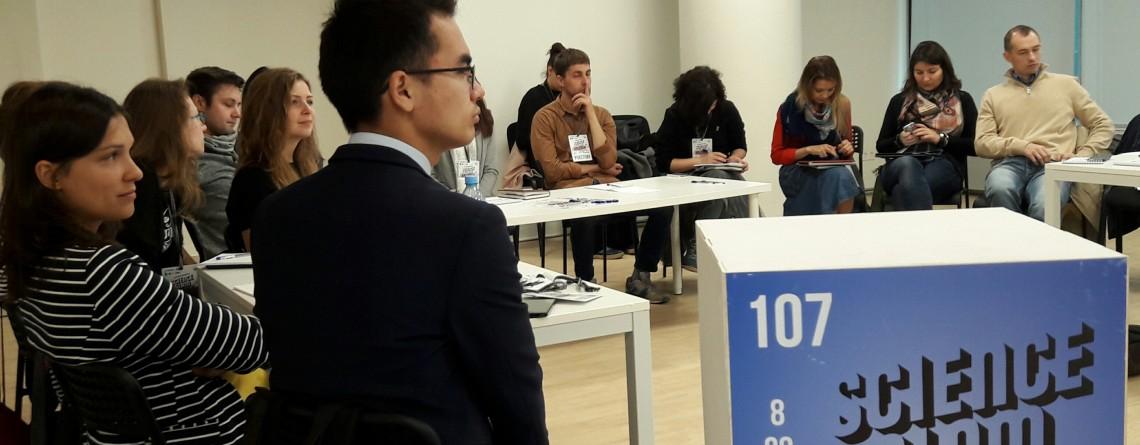 Mitgliederversammlung der Assoziation Science Slam in Russia