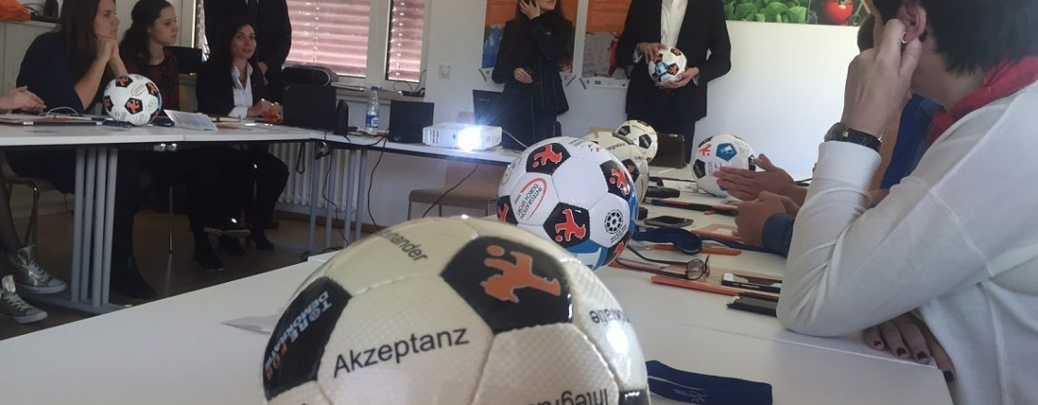 """Workshop """"Straßenfußball für Toleranz"""""""