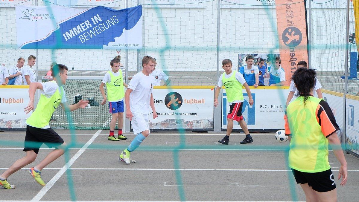 Немецко-российские футбольные мосты.Молодёжь Германии и России путешествуют вместе по городам чемпионата мира