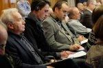 Во время выступления обсуждалась тема германо-российских отношений.