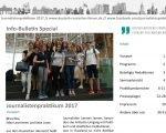 Info-Bulletin Special Journalistenpraktikum 2017