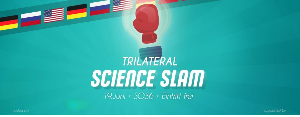 Trilateraler Science Slam D-RF-USA in Berlin