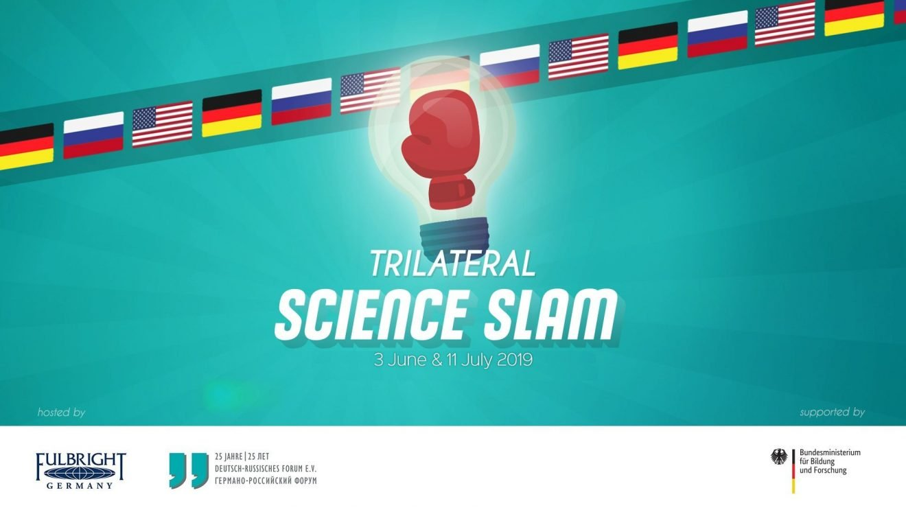 Trilateral Science Slam: Russland - Deutschland - USA