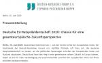 Deutsche EU-Ratspräsidentschaft 2020: Chance für eine gesamteuropäische Zukunftsperspektive