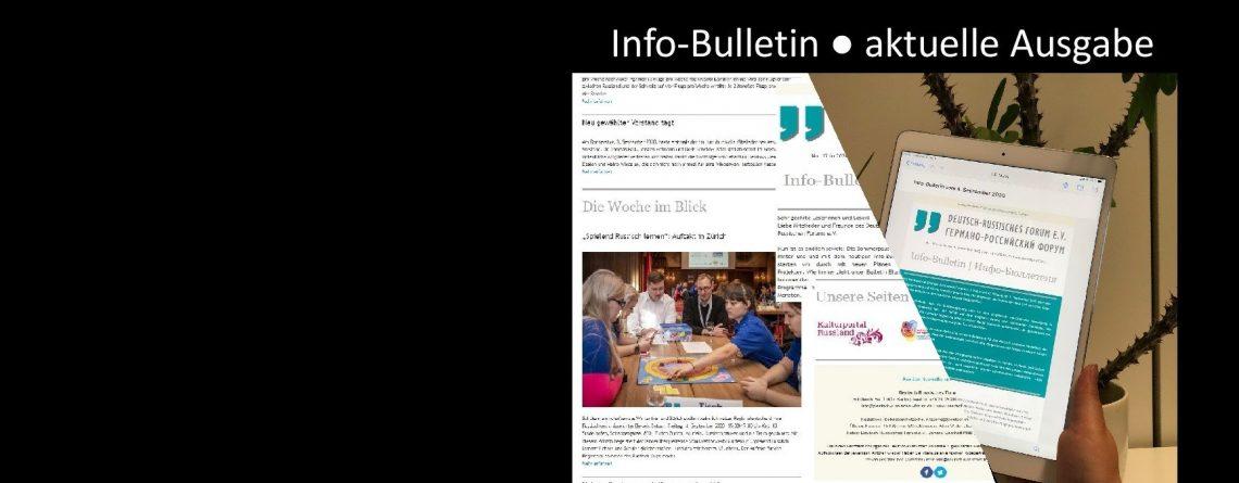 Info-Bulletin vom 5. Februar 2021