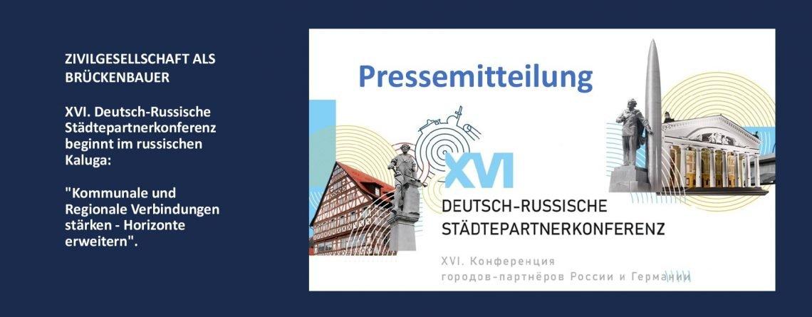 Pressemitteilung № 07 / 2021: Zivilgesellschaft als Brückenbauer